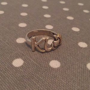 Jewelry - Sterling silver & 14k gold Key West knot ring